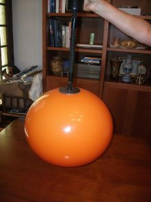 SUSPENTION VINTAGE ORANGE ANNEE 1970