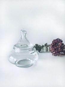 Petite bonbonnière en verre
