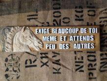 décoration murale, texte , mots personnalisés