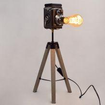 Lampe vintage Michelle Yashica - Atelier Monsieur Lumière