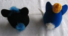 Deux peluches Furby, collector