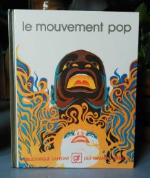 """Livre """"Le mouvement Pop"""" - 1975"""