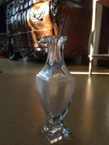 Vase estampille sevre cristal