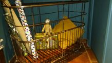 Ancien chariot de boulanger