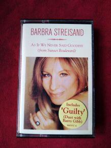 Cassette audio Barbra Streisand