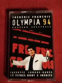 Cassette audio Frédéric François Olympia 94