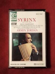 Cassette audio syrinx