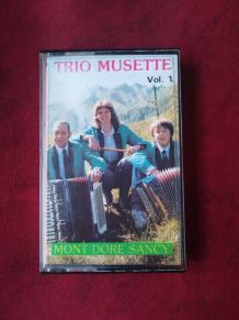Cassette audio trio musette volume 1