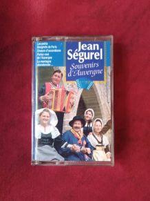Cassette audio Jean Ségurel souvenirs d'Auvergne