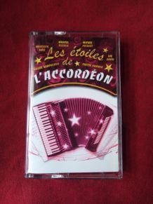Cassette audio les étoiles de l'accordéon