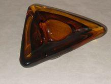 Cendrier vide poche Triangle vintage 70 s