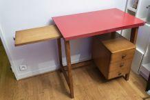 Bureau ancien 3 tiroirs vintage