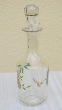 Carafe émaillée - Fleurs jaunes et feuillage