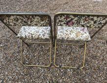 Paire de chaises Lafuma
