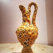 Vase / aiguière de style VALLAURIS