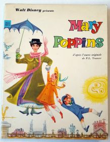 Livre Mary Poppins vintage