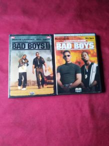 Deux DVD ( bad boys et bad boys 2)