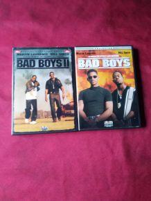 Deux DVD ( bad boys et bad boys 2)