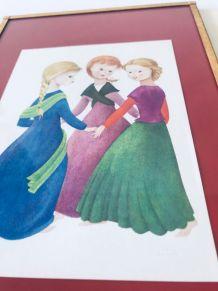 Lot de 3 illustrations enfantines
