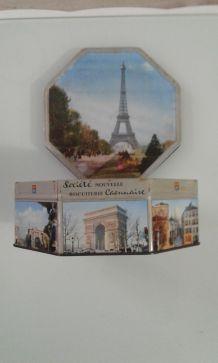 Boîte metal la Tour Eiffel.