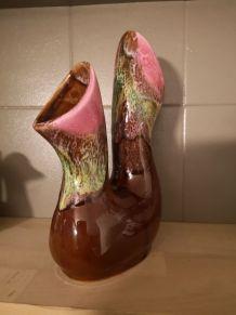 Vase double vallauris