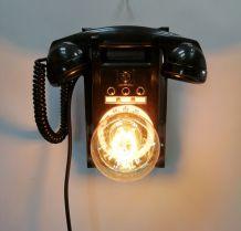 """Lampe murale industrielle, Applique vintage - """"Call Me"""""""