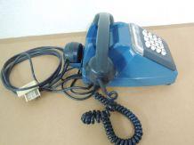 Téléphone bleu vintage