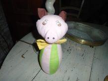 Quille en tissu cochon