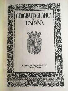 Livre «Geografia Gráfica de España»