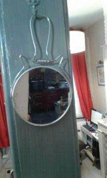 Miroir chat Barbier