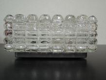 Plafonnier en verre vintage