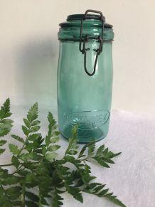 Grand bocal SOLIDEX - 1 litre (Nuance vert bleuté)
