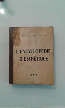 Encyclopédie  D esthétique 1950