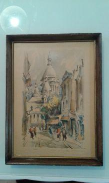Paris le Sacré Coeur Marius Girard.