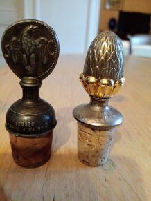 Bouchons vintages metal