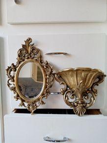 Console et miroir