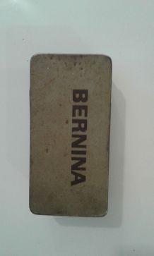 Boite metal BERNINA industriel
