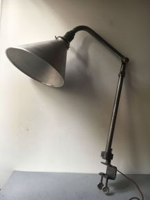 """ANCIENNE LAMPE ETAU ATELIER INDUSTRIEL """"KI E KLAIR"""""""