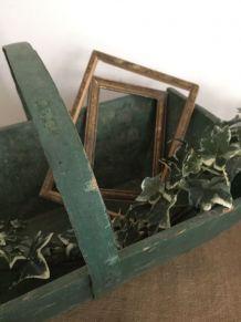 Panier de jardin, baquet ancien