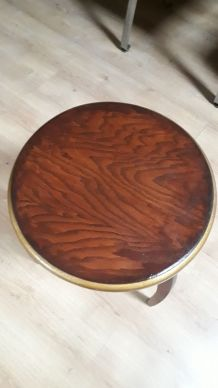 table tripode art deco 1930 a 40 ,68x40