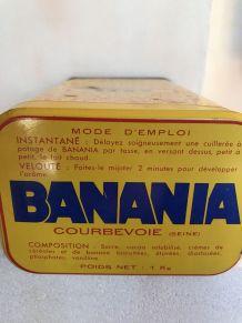Boîte en métal Banania