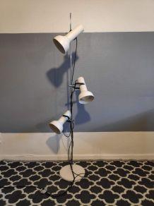 lampadaire style Monix blanc, 3 spots
