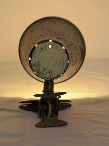 Lampe d'atelier à pince