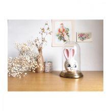 Dévidoir tire-ficelle lapin en céramique