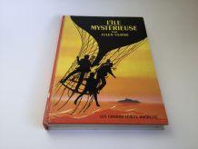 Livre l'île Mystérieuse de Jules Verne 1969