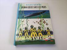Livre 1968  de Jules Verne 20.000 lieues sous les mers