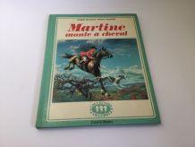 Livre enfant vintage Martine monte à cheval