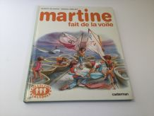 Martine fait de la voile Livre enfant vintage
