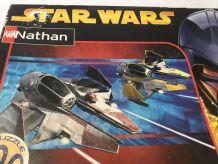Jouet vintage PUZZLE Star Wars Jedi starfighter