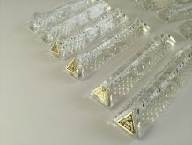 Porte couverts vintage cristal 24%